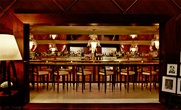 The Iconic Rose Bar offers happy hour pricing Monday through Friday from 4pm -7pm