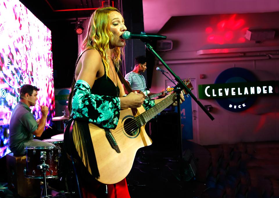 Carly Jo Jackson Trio at The Clevelander, September 7, 2016