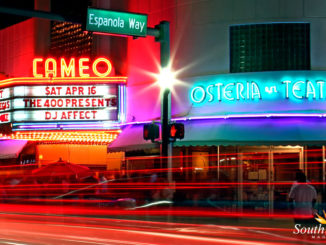 South Beach's top restaurants include Osteria del Teatro