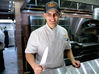DÔA Chef Carlos Estarita is ready to dazzle late night diners. (photo: World Red Eye)