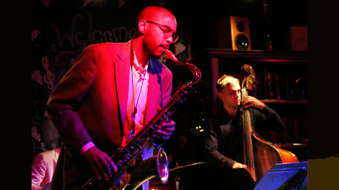 Melvin Butler and Bob Bruya with the Tal Cohen Quartet at Le Chat Noir