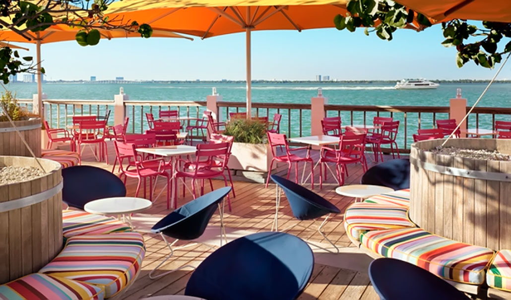 Lido Bayside Grill at the Standard Hotel