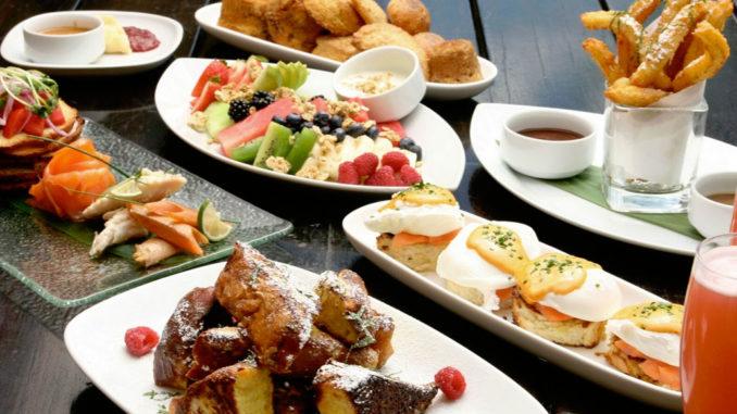 SUSHISAMBA breakfast