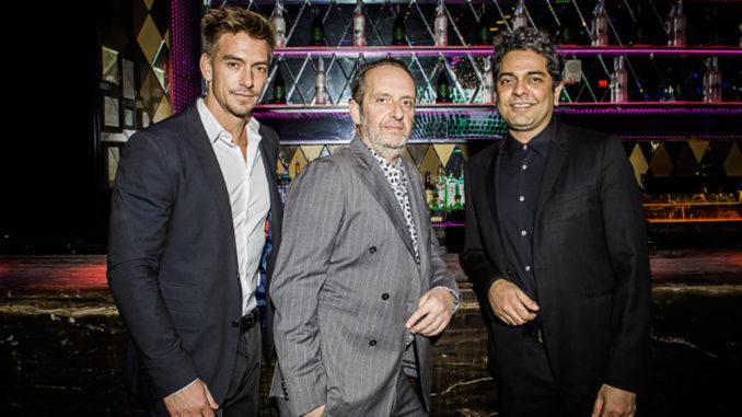 Marko Gojanovic, Nicola Siervo and Navin Chatani of KNR Hospitality