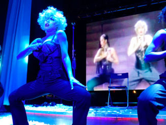 Lexa Paige as Madonna at Copa Room