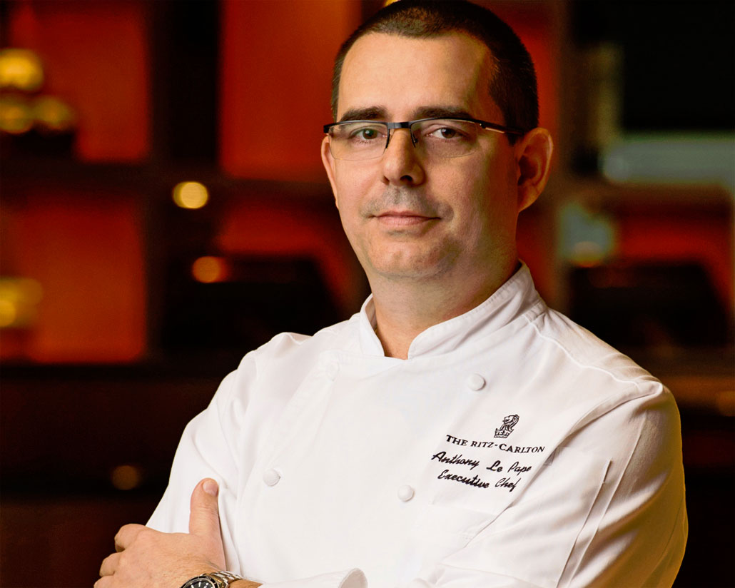 "The Ritz-Carlton South Beach Executive Chef Anthony Le Pape joins ""Best of the Best"""