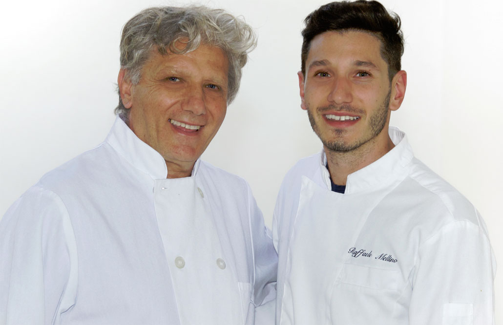 Forte dei Marmi Chefs Antonio and Raffaele Mellino are father & son