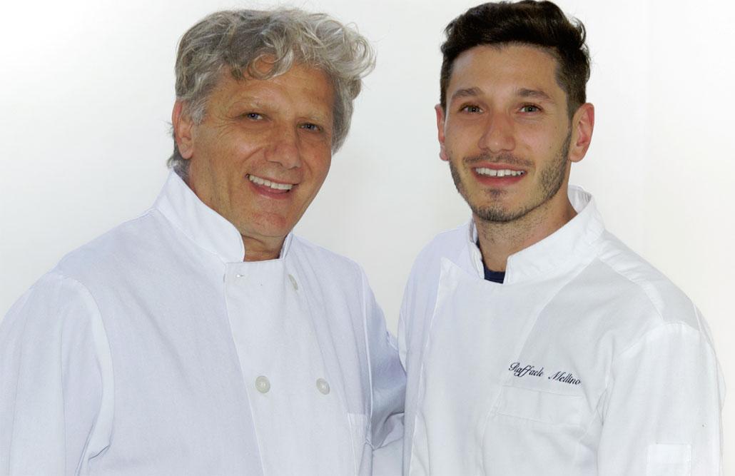 Forte dei Marmi Chefs Antonio and Raffaele Mellino are father & son