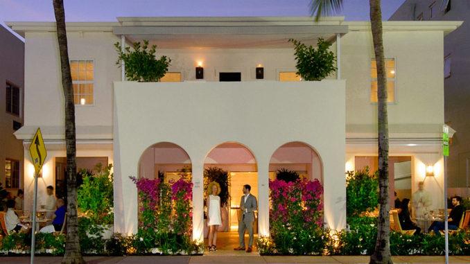 Forte dei Marmi Restaurant and Arts Club on Ocean Drive