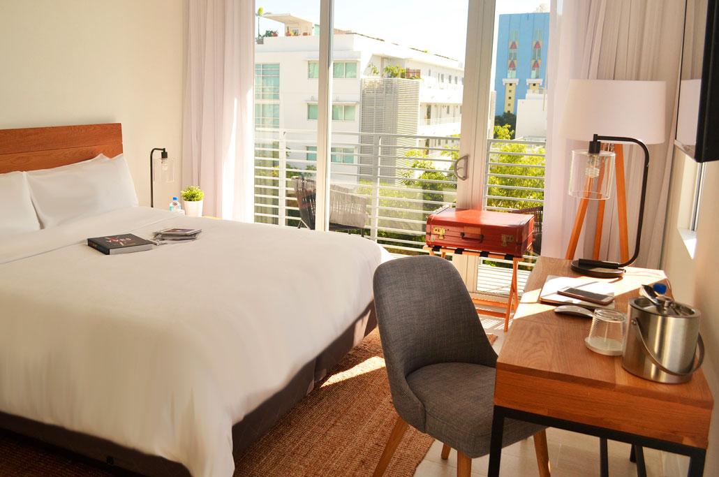 Meridian Hotel Bedroom