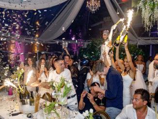 Villa Azur 5th Anniversary All White Bash