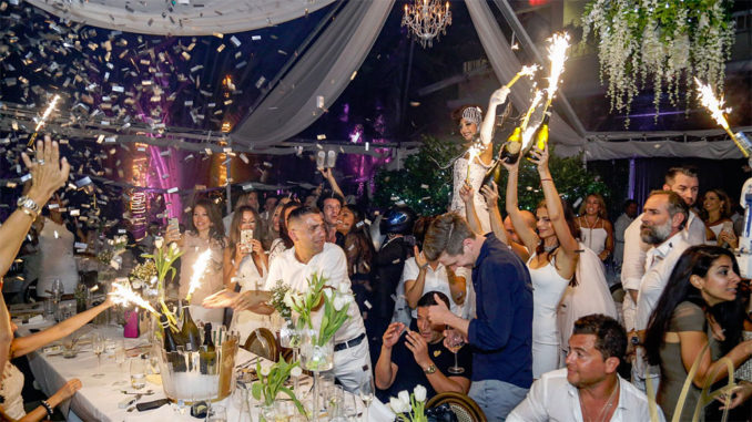 Villa Azur 5th Anniversary All White Bash