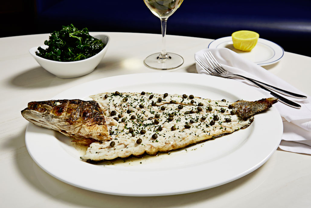 Whole Wood Grilled Fish at Lobster Bar Sea Grill