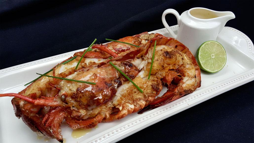 Hong Kong Grilled Lobster at Komodo