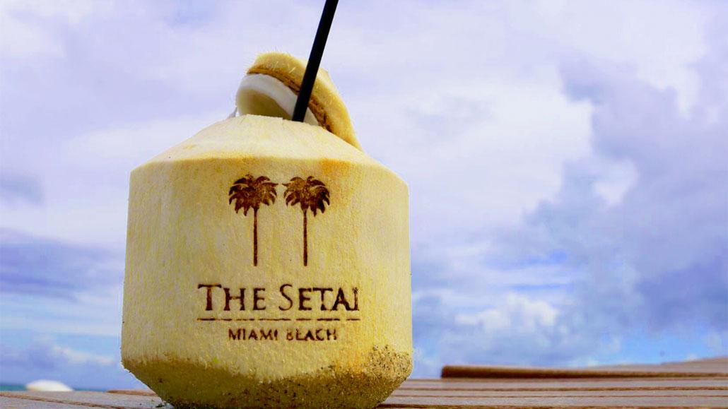 Coconut Cocktails at the Setai, Miami Beach