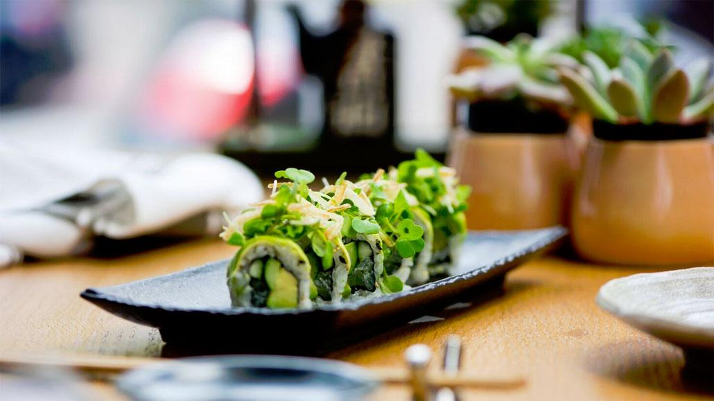Vegetarian Roll at Sushi Garage