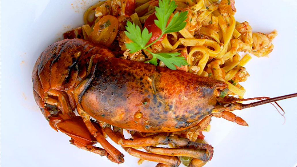 Lobster Taglionini at Moderna