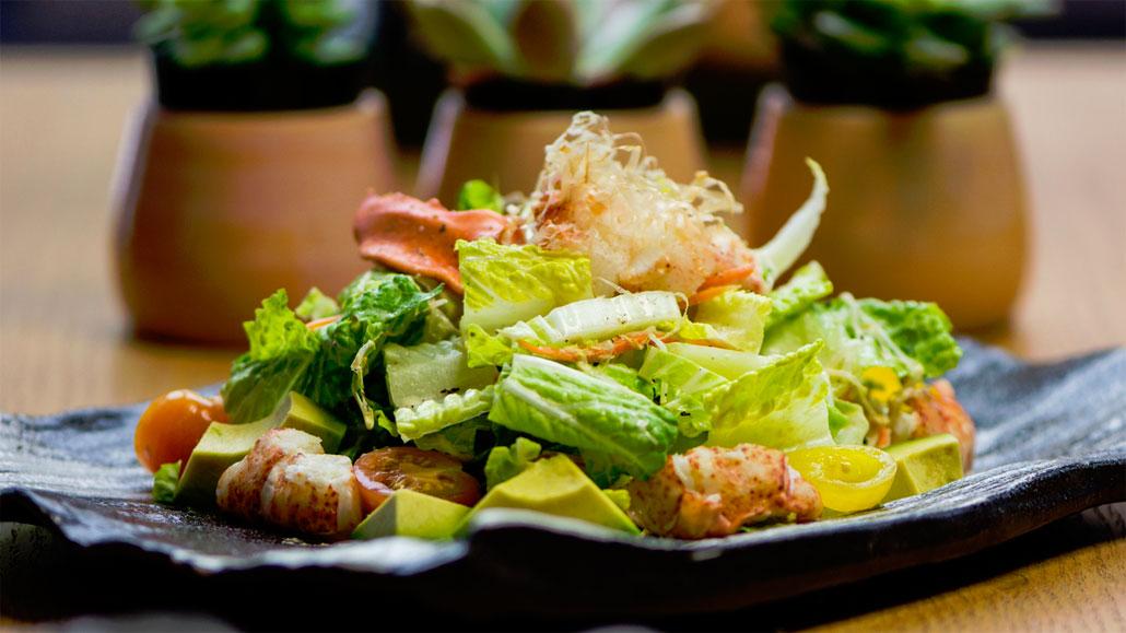 Lobster Salad with Ginger Dressing at Sushi Garage