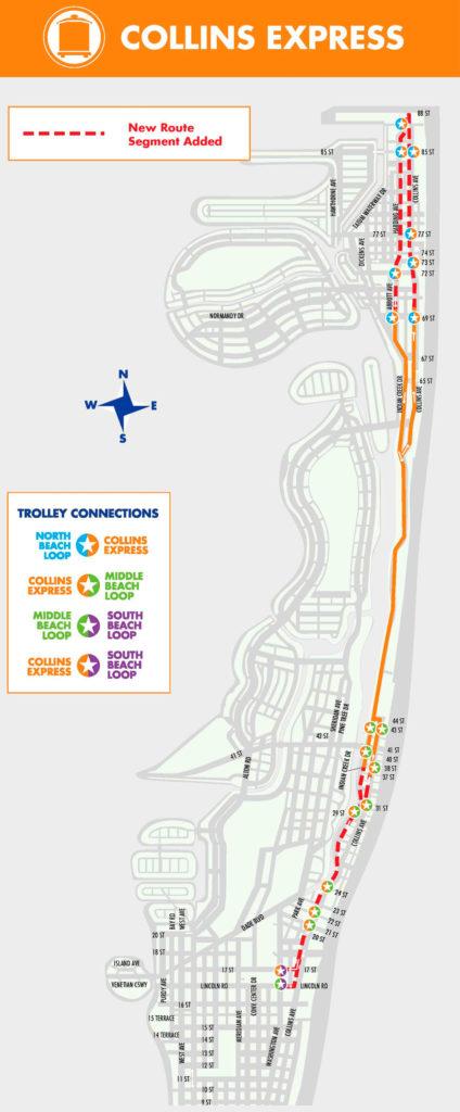 miami beach free trolley service | south beach magazine