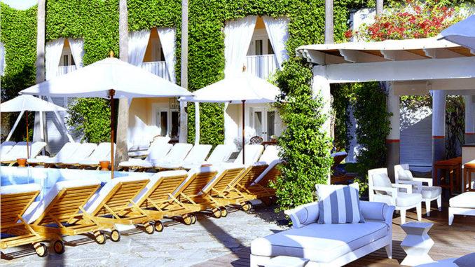 Delano beach club s mad decent pool party south beach for Delano hotel decor